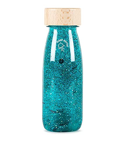 Petit Boum – Botella sensorial Float turquesa – Madera y otros materiales – PBFTURQUOISE