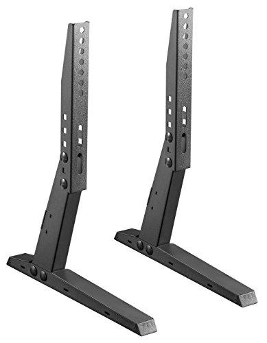 RICOO FS309-S, TV-Ständer, Höhenverstellbar, 19-47 Zoll (ca. 48-119cm), Universal Ersatz-Ständer, Fernseher-Stand, Stand-Fuß, VESA 200x100-400x200