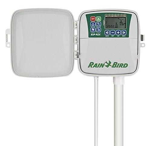 Rain Bird RZX6E Programador de riego eléctrico Exterior, Gris, 29.0x10.0x21.0 cm