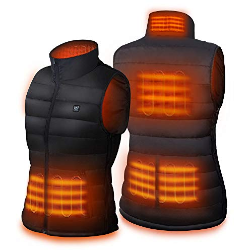 Dr. Prepare Heated Vest, Unisex Heated Clothing for men women, Lightweight USB Electric Heated...