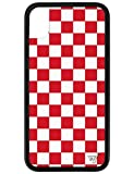 Wildflower Limited Edition Cases for iPhone XR (Red Checkers)