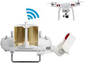 RCstyle Copper Parabolic Radar Antenna Range Extender for DJI Phantom 3 Standard/SE Controller Transmitter Signal Booster