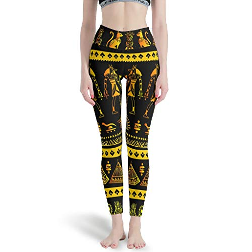 Ballbollbll India Egipto Maya - Leggings de yoga para mujer, cintura alta y control de barriga, elásticos, para correr en la escuela, para uso diario, ocio, blanco, 2XL