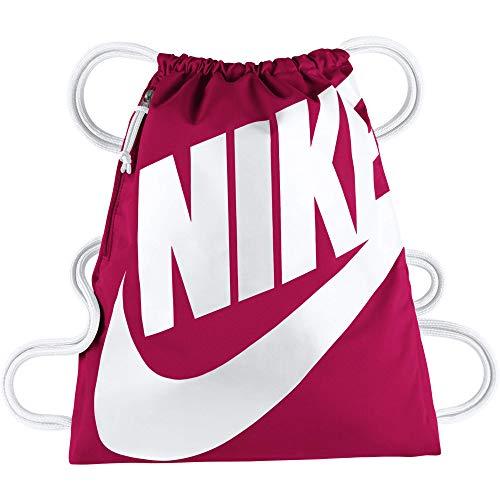 Nike Unisex-Erwachsene NK Heritage GMSK Turnbeutel, rosa (Rush Pink/White)