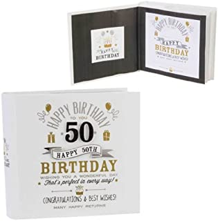 Signography 50th Birthday Photo Album 4x6 (FL29950)