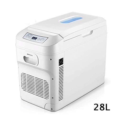 Mini nevera, refrigerador del coche, coche compresor del refrigerador, refrigerador del refrigerador y calentador, Refrigerador portátil for coche Frigorífico 24V / 12V / 220-240V coche más fresco fre