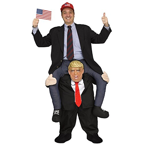 Ride On Me Adult 2020 Trump President Prank Costume Mascot Party Fancy Dress Costume
