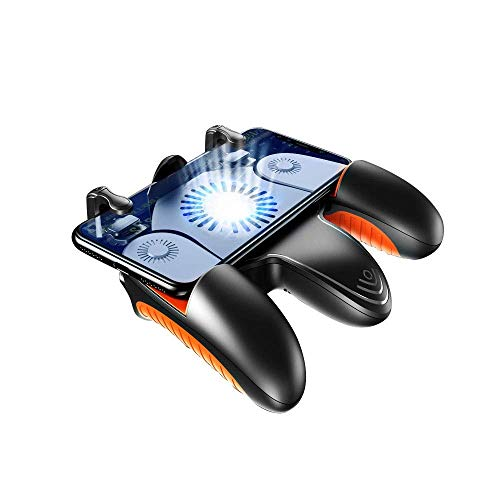 XYXZ Gamepad Controller Joysticks Mango De Juego Plástico Móvil Mecánico Teléfono Móvil Joystick Compatible Con Sistema Ios Y Android Control Remoto, Varios Juegos De Disparos De Juegos Móvi