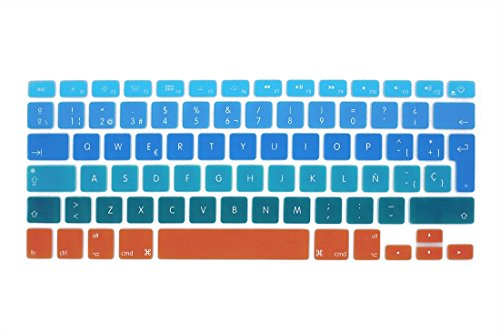 GSuMio Española Cubierta del teclado / Keyboard Cover para MacBook Pro 13