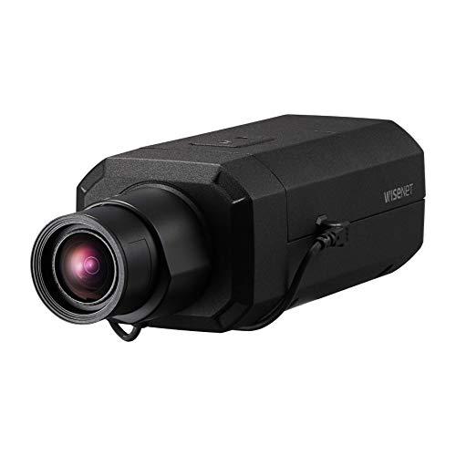 Wisenet PNB-A9001 4K AI Red Cuerpo Caja Cámara CCTV Aprendizaje Seguridad