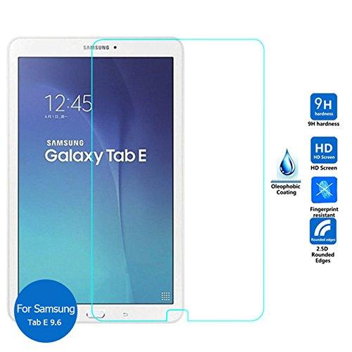 StormSell Mica Cristal Templado Samsung Galaxy Tab E 9.6 Protector de Pantalla Tempered Glass Alta Durabilidad Antimanchas Antireflejante ENVIAMOS 2 Piezas