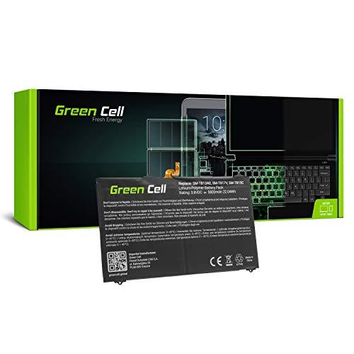 Green Cell® Akku EB-BT810ABA EB-BT810ABE für Samsung Galaxy Tab S2 9.7 T810 T813 T815 T819 Tablette (Li-Poly Zellen 5800mAh 3.8V Schwarz)
