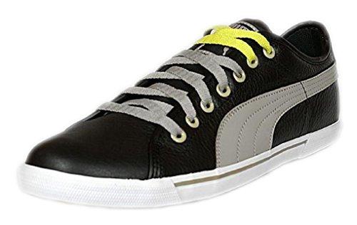 Puma Sneaker Benecio Leder schwarz/taupe