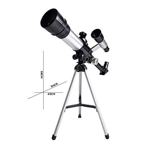 Astronomische Telescoop Professional Sterrenkijken hoge vergroting High-List Tube Telescope, 50MM grote diameter, met 360mm brandpuntsafstand Sterrenkijken Experience is goed ZHW345