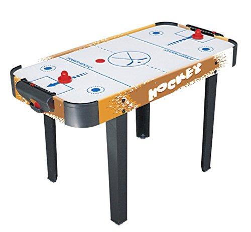 Softee Equipment 0009922 klassieke tafel Air Hockey, wit, S