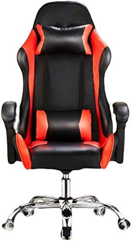 QNDDDD Office Chairs Gaming Ergonomic Gaming with Adjustable Height Home Office Computer Desk Computer Chair Office Chairs/A/As Shown