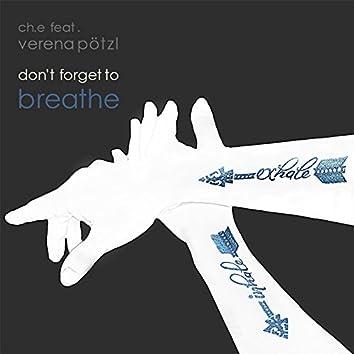 Don't Forget to Breathe (feat. Verena Pötzl)