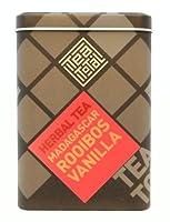 Tea total (ティートータル) / マダガスカル バニラ ルイボス 100g入り缶 ニュージーランド産 (ルイボスティー / ハーブティー / フレーバーティー / ノンカフェイン) 【並行輸入品】