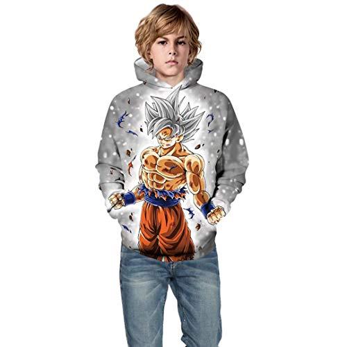 Kids Novelty 3D Printed Sweatshirt Girls Boys Cartoon Pullover Hoodies
