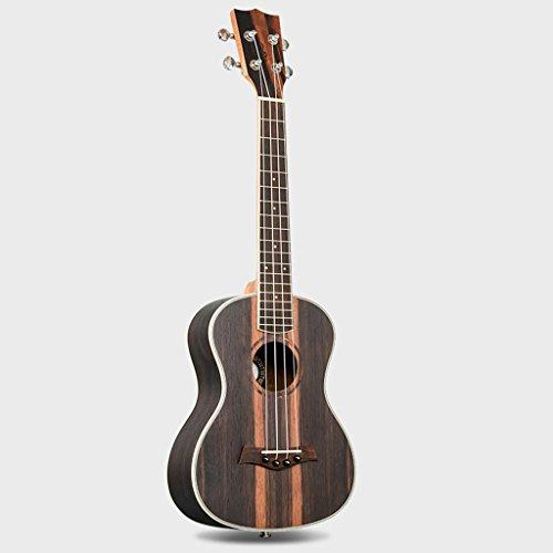 LINGZHIGAN Ukulele Ebenholz 27 Zoll 30 Zoll 34 Zoll Uklele Kleine Gitarre Palisander Griffbrett Erwachsene Studenten ( Size : 27 inch )