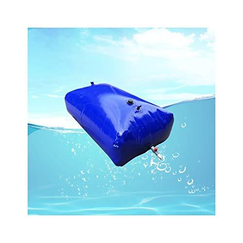 Almacenamiento de agua Exterior De Gran Capacidad Contenedor Vejiga De Agua Sin BPA PVC De Calidad Plegable Patio Cámping Tamaño Personalizado ZLINFE (Size : 4000L/3x1.7x0.8M)
