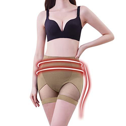 Seguire Damen Miederhosen Bauch Taillentrimmer Bodysuit Unterwäsche Bodyshaper Taille Bauchweg Sexy Shapewear mit Bauch-Weg-Effekt Figurformender Hüften und Bauch Korsett