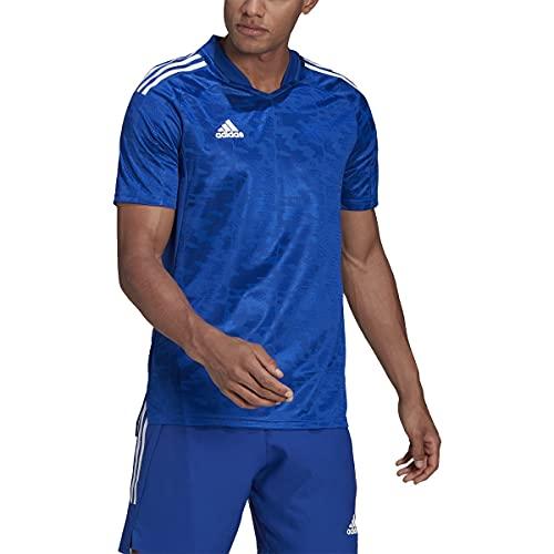 adidas Condivo 21 Jersey - Men's Soccer L Team Royal Blue/White