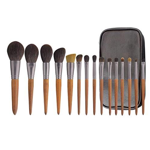 LHY- Lot de 15 pinceaux de maquillage - Poils doux - Poudre douce - Fard à paupières - Ensemble professionnel tendance