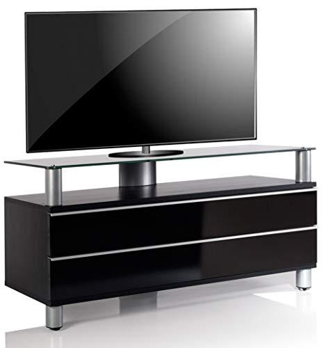 VCM TV Lowboard Fernseh Rack Tisch Schrank Bank Sideboard Holz Lack