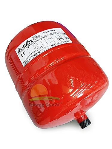 ELBI A102L16 Vaso de expansión para calefacción er-8 CE, azul, rojo y blanco