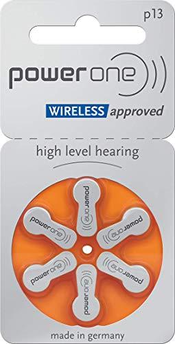 Power One Lot de 30 Piles auditives Type p13