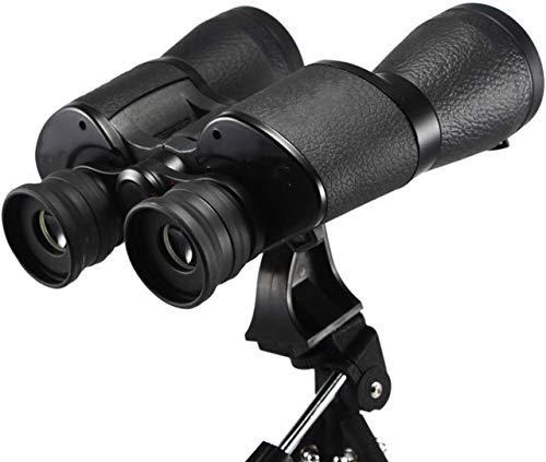 Houguiyuan HD 20x50 Teleskop-Binokel Low Light Nachtsichtbrille for Outdoor-Jagd Reisen Klettergarten Vogelbeobachtung Das Stativ Geeignet für Anfänger und Kinder