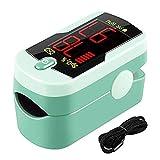 Lipeed Pulsioxímetro, medidor de saturación de oxígeno de Dedo, Monitor de frecuencia cardíaca, oxímetro,determinación de la frecuencia cardíaca y saturación de oxígeno Arterial