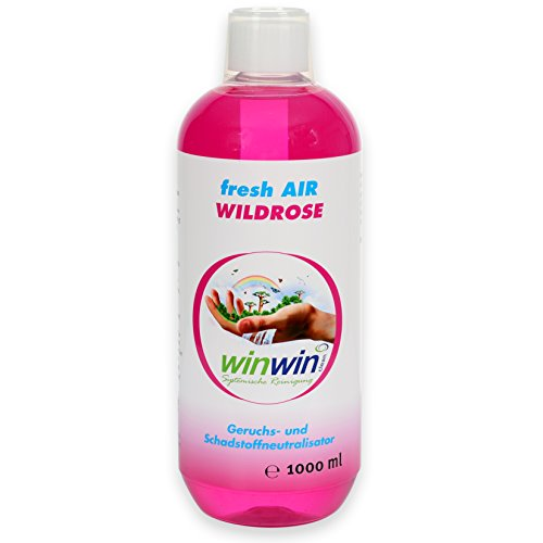 winwinCLEAN LUFTREINIGUNGS-Konzentrat Fresh Air 'WILDROSE' 1000ML