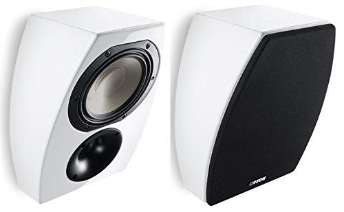 CANTON AR 800, Weiß Hochglanz - 2-Wege Dolby Atmos Lautsprecher, Paarpreis