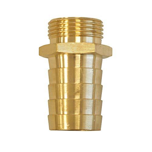 Sirocco 5421280 - Brass boquilla de la manguera más limpio con 1,50...