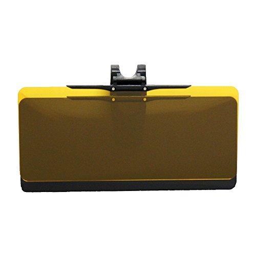 メルテック ダブルスクリーンサンバイザー 日差し&ヘッドライト光軽減 W330×H130mm Meltec SV-02