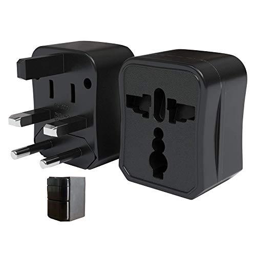 Universal Reiseadapter 150 Ländern Einsetzbar, Tragbar 3-1 Kompakter Cube Adapterstecker, Weltreise Reisestecker für EU, USA, China, Japan, Kanada, Australien