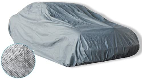 discount 4 LayerPly Outdoor Water Resistant Car Cover with Fleece Inner Lining outlet online sale by sale OxGord, Fits Cars up to 204 Inches outlet online sale