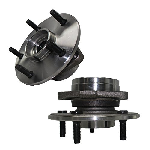 Detroit Axle 515038 Both Front Wheel Hub & Bearing Assembly for 2000-2001 Dodge Ram 1500