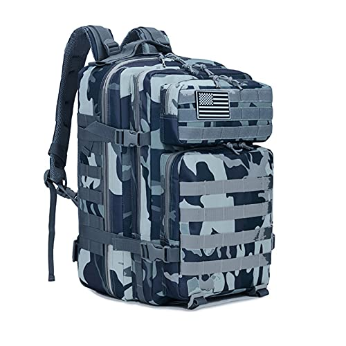 Lightweight Hiking Backpack,Cycling Backpack,bicycle backpack, Bike Rucksack, Mountain travel backpack, cycling bags for men, for Cycling Travel Climbing Mountaineer Outdoor Sport (Marine camouflage)