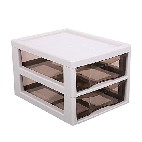 BOX Cosmétiques Boîte de Rangement En Plastique Transparent de Type Tiroir de Bureau Rouge À Lèvres Bijoux Soins de La Peau Produits D'Affichage Boîte de Rangement (Taille: 34 × 27 × 30 Cm),34 * 27 *