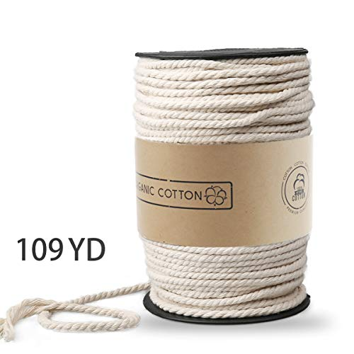 Our #7 Pick is the ZOUTOG Macrame Rope