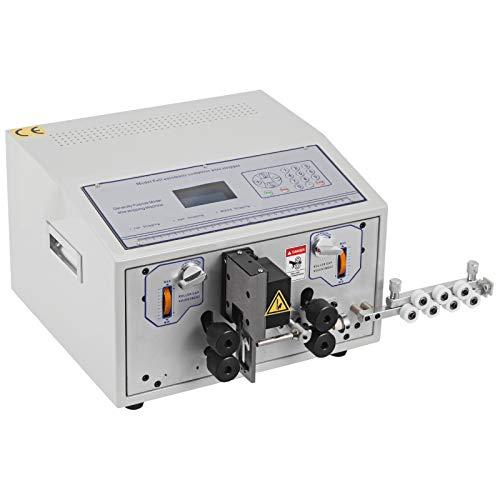 VEVO Máquina de Pelacable 0.1-8 mm² Máquina Peladora de Cables Eléctrica Automática Adecuado para Varios Tipos de Cable Redondo y Cable Plano con Cubierta