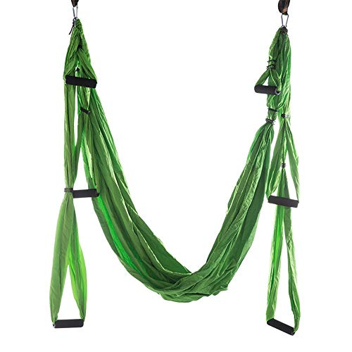 Fantastic Prices! DERTHWER Yoga Hammock Anti-Gravity Aerial Yoga Hammock Hang Parachute Cloth Qualit...