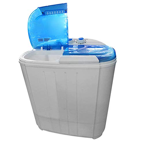ALEXTREME Portable Washing Machine Mini Compact Washer with Mini Washing Machine Spin Dryer for Home Apartments, Condos, Motor Homes, Camping Trips or Dormitories - Does Not Require Plumbing