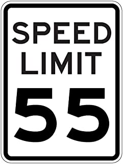 3 mph speed limit sign