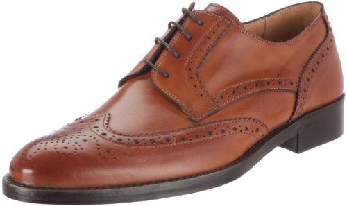 Florsheim Russell, Zapatos de Cordones Brogue para Hombre, Marrón (Tan), 44 EU (10 US