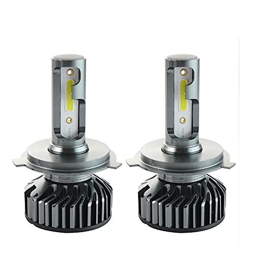 luces led para autos Faros de coche HB3 HB4 H4 H7 LED H7 LED H11 Auto Front Front Fight luces de niebla cerca de lámparas de diodo lejano para coches 12V 12000LM 4300K 6000K 8000K luces led para coc