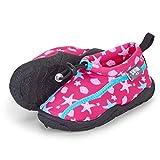Sterntaler Baby - Mädchen Aqua-Schuhe mit Gummizug und rutschfester Sohle, Farbe: Magenta, Größe: 19/20, Alter: 12-18 Monate, Art.-Nr.: 2512104